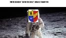 Alfaan op de maan